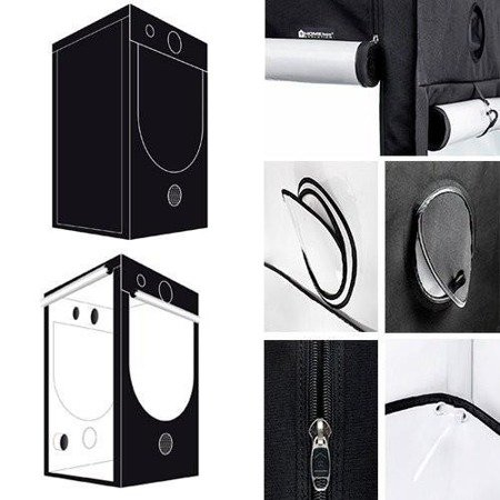 HOMEbox® Evolution Q120 - 120x120x200cm