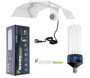 Spectromaster 300W  blue - for growth phase with CFL reflector