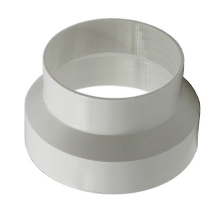 Ø100 - Ø125mm plastic reducer