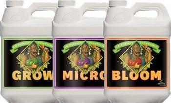 Paketti pH Perfect Grow / Micro / Bloom 4L