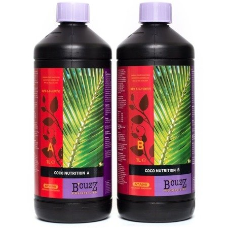 B´CUZZ Coco Fertiliser A&B 1L